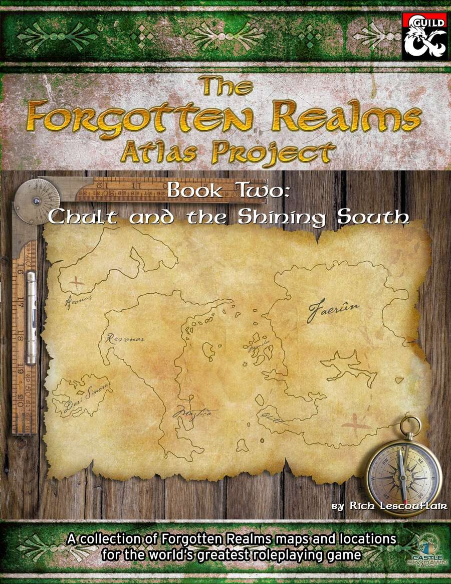 Forgotten Realms Atlas Project Book Two