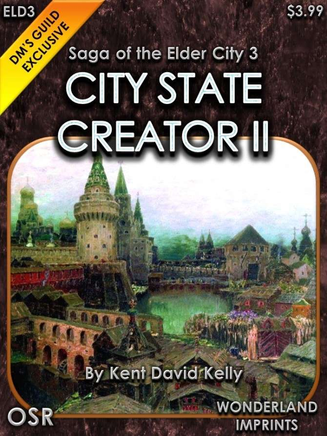 City State Creator II - Dungeon Masters Guild | Dungeon Masters Guild