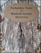 Forbidden Tome of Warlock Arcane Mysteries