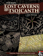 Lost Caverns of Tsojcanth - Realistic Maps