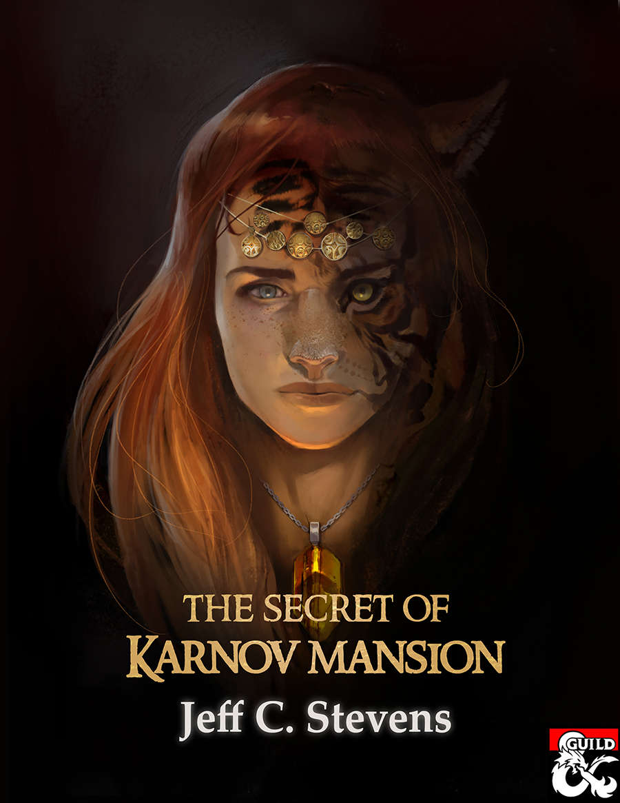 Cover of The Secret of Karnov Mansion