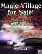 Magic Village for Sale - Adventure