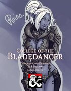 Bard College - College of the Bladedancer