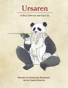 Ursaren, the Panda Folk Race