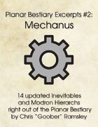 Planar Bestiary Excerpts #2: Mechanus