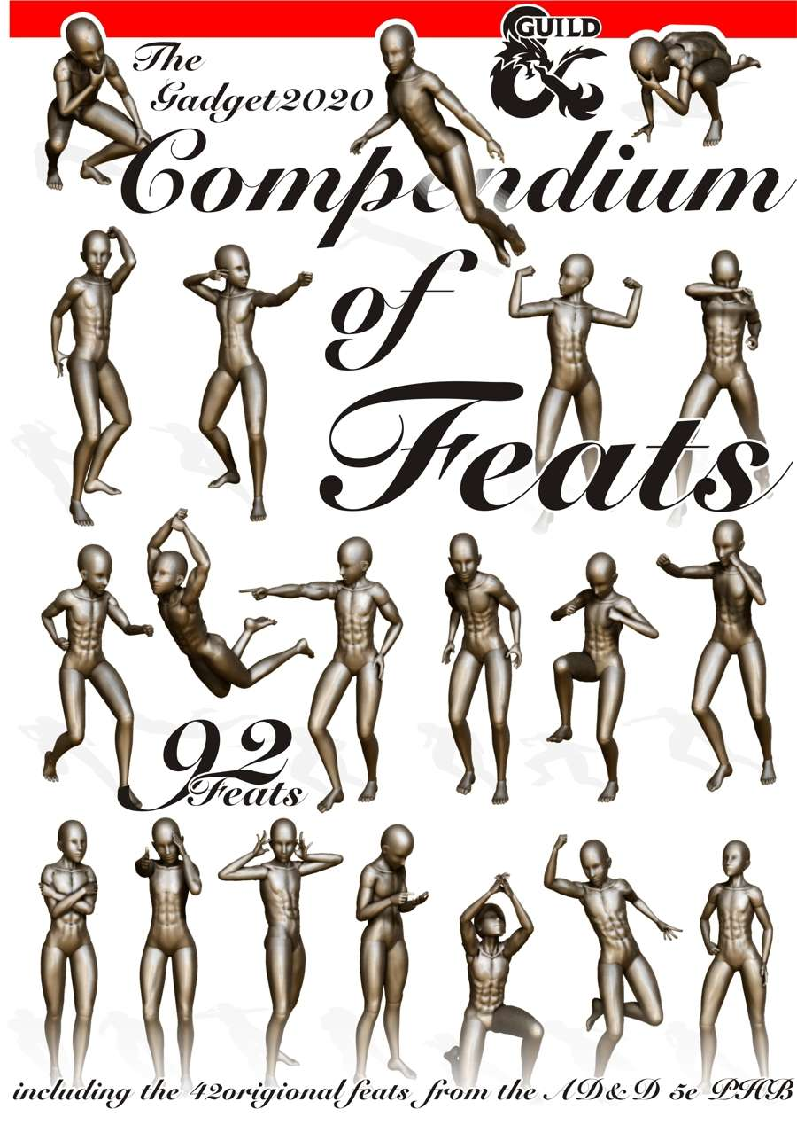 Compendium of Feats - Dungeon Masters Guild | Dungeon Masters Guild