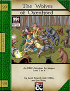 99 Cent Adventures - The Wolves of Oxenfjord - Addon Adventure