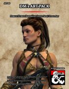 ART006 Female Human Barbarian (Inner Seas)