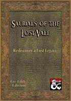 The Saurials of the Lost Vale