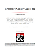 Grammy's Country Apple Pie