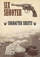 Six-shooter – Custom Character Sheets