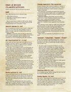 5e Rules Clarifications