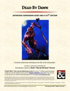 Dead By Dawn Adventure Conversion Guide (5e)