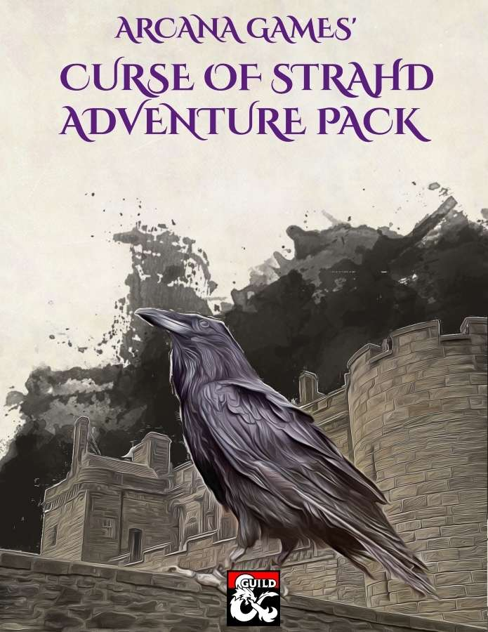 Curse Of Strahd Adventure Pack Dungeon Masters Guild