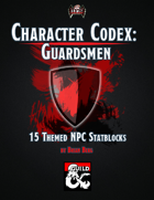 Character Codex: Guardsmen