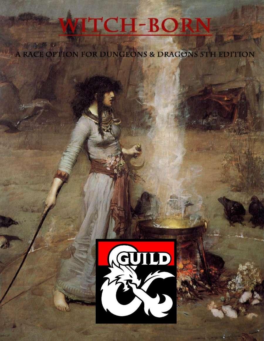 The Witch Born (Half Hag)