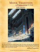 Jedi Knight - 5e Monk Tradition