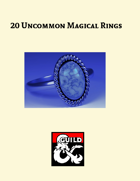 20 Uncommon Magical Rings