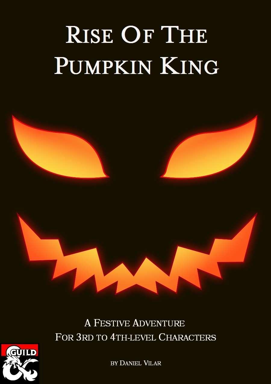 Drivethrurpg Halloween Pumpkins 2020 Rise of the Pumpkin King (Adventure)   Dungeon Masters Guild