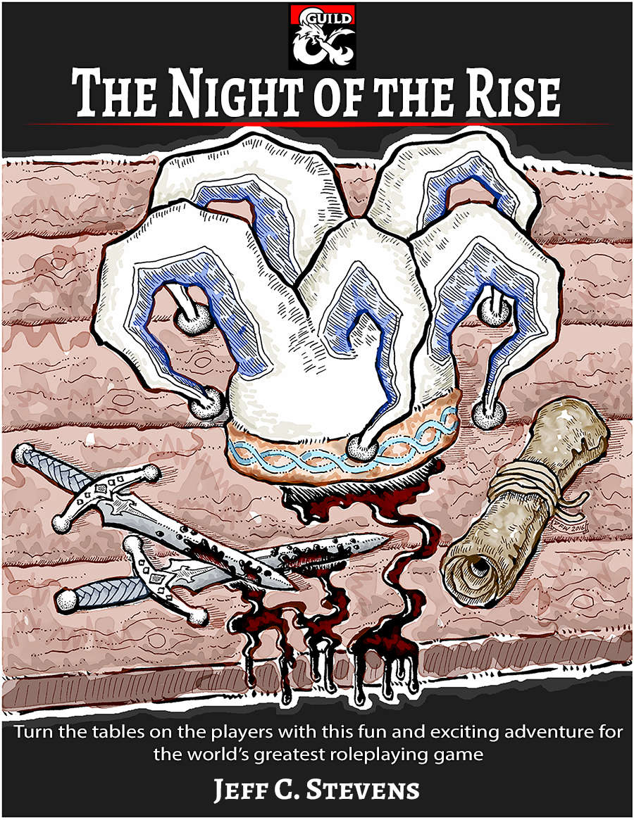 Cover of The Night of the Rise