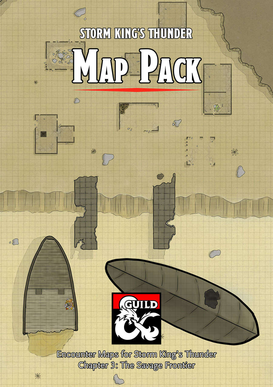 Storm King's Thunder Map Pack