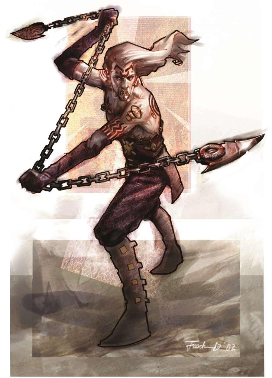 Dhampir Half Vampire Race Dungeon Masters Guild