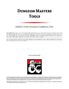 Dungeon Master Tools: DnDAL Story Awards Elemental Evil