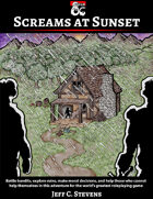 Screams at Sunset - Adventure
