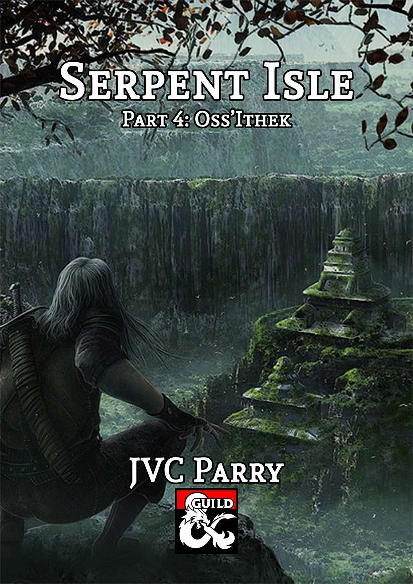 Cover of Serpent Isle Part 4: Oss'Ithek