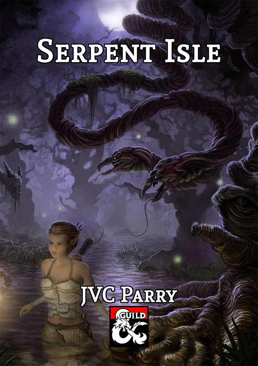 Cover of Serpent Isle