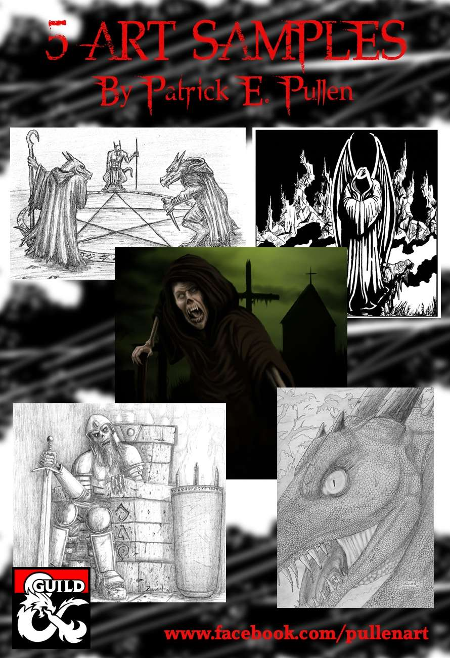 5 Art Samples for your Adventures