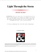 Light Through the Storm