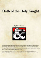 Oath of the Holy Knight