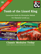 Classic Modules Today: I2 Tomb of the Lizard King (5e)