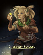 Meret the Gnome Rogue