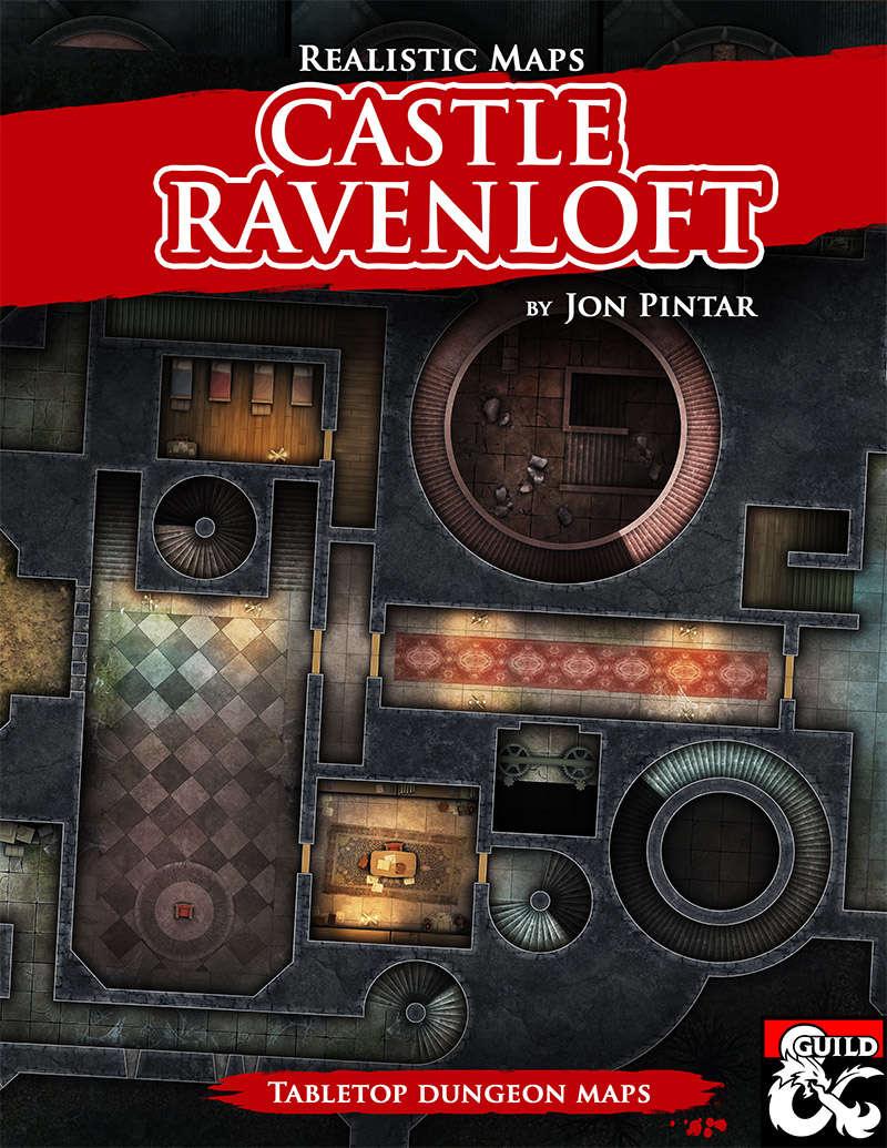 Castle Ravenloft - Realistic Maps