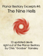 Planar Bestiary Excerpts #4: The Nine Hells