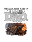 DM Encounter Builder