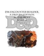 DM Encounter Builder