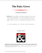 The Fairy Grove