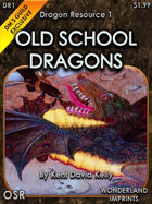 DR1 - Old School Dragons - Molting Wyrmlings