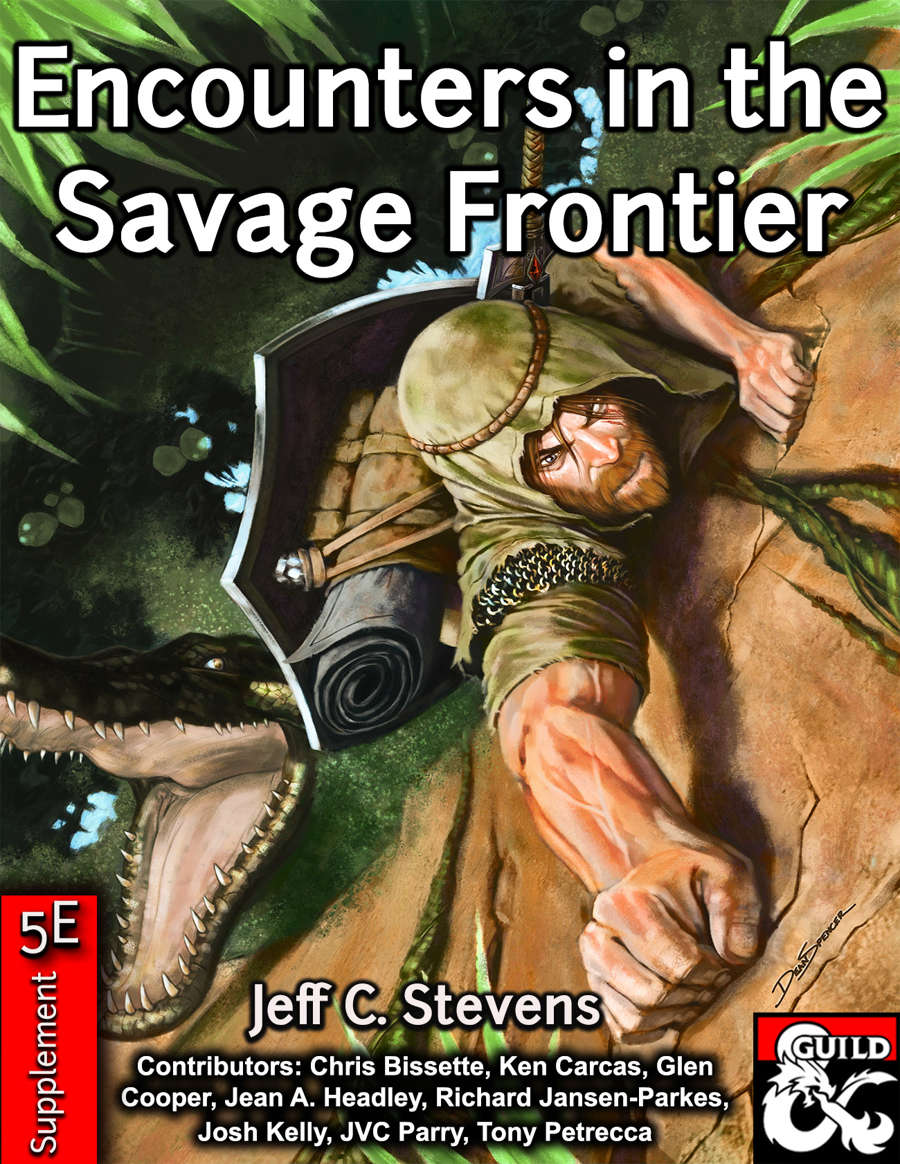 Cover of Encounters in the Savage Frontier