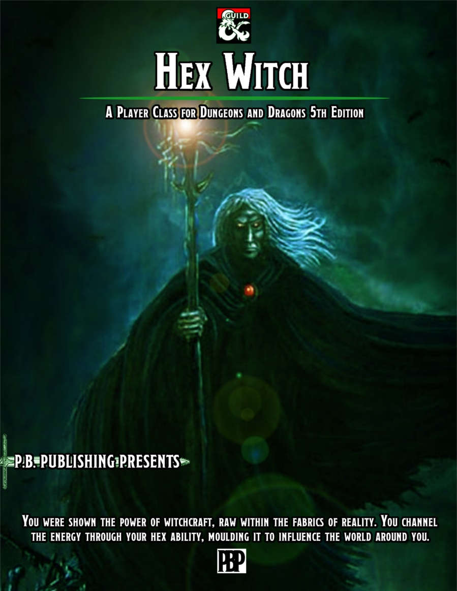 Hex Witch - 5E Player Class - Dungeon Masters Guild | Dungeon Masters Guild