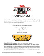 CCC-GHC-01 Tharaera Lost