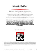 Kinetic Drifter Martial Archetype for Fighters