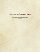 Bard - College of Culinary Arts