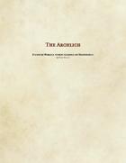 Warlock Patron - The Archlich