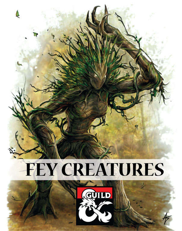 Fey Creatures: Nymphs, Pixies, and the Jabberwocky - Dungeon Masters Guild  | Dungeon Masters Guild
