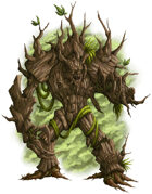 Witchwood Treant - Racial Option for 5e
