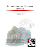 Letters to the Dungeon Master: A Darker Fantasy